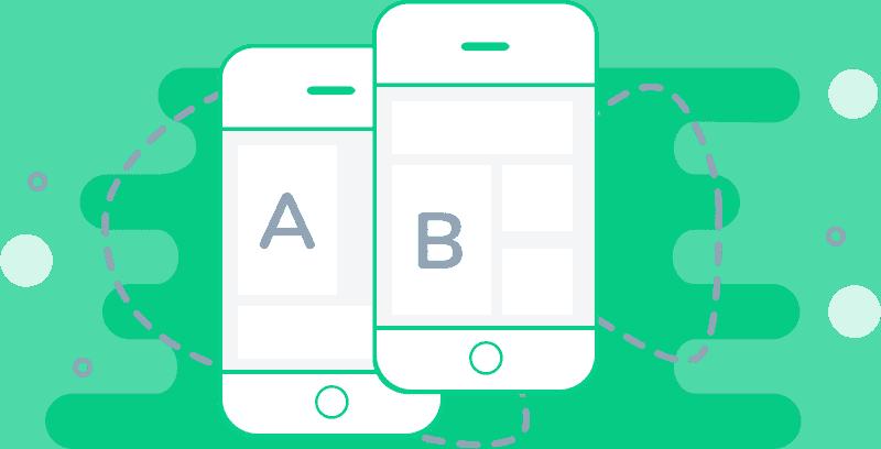 A-B testa mailutskick